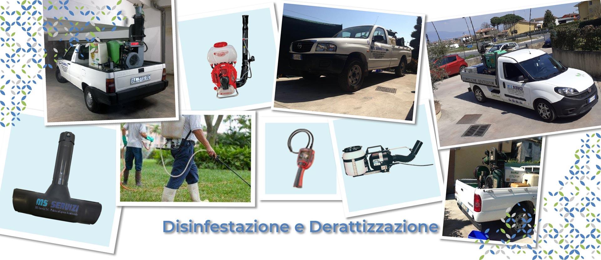 Disinfestazione-Derattizzazione